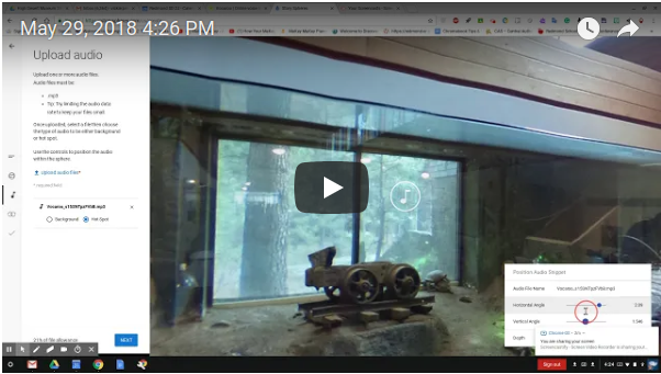 Turning 360 Images Into Narrated Stories