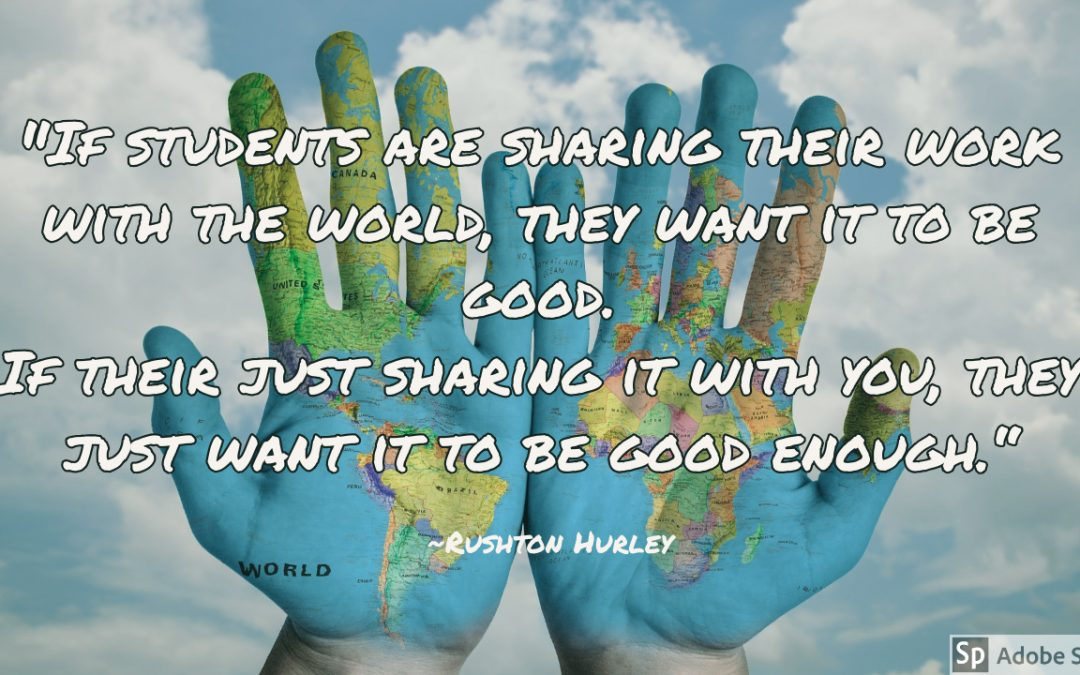 Safely Sharing Student Work Beyond the Classroom