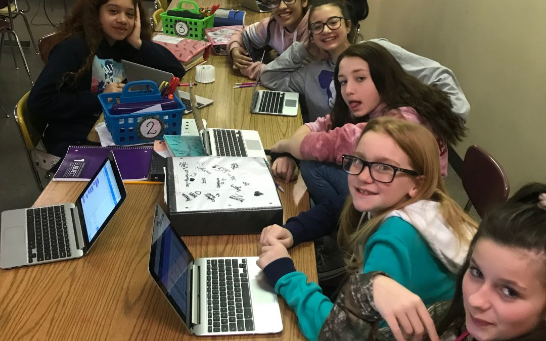 Girls Who Code at OMS